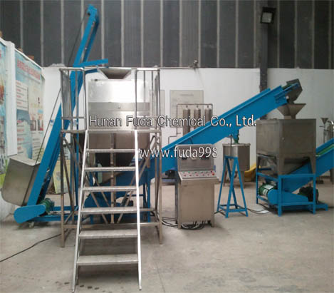 XJ600-2 Detergent Powder Production Line-Agglomeration and